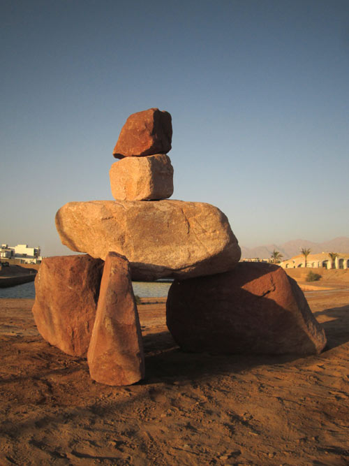 Dolmen, Jordan sculpture symposium