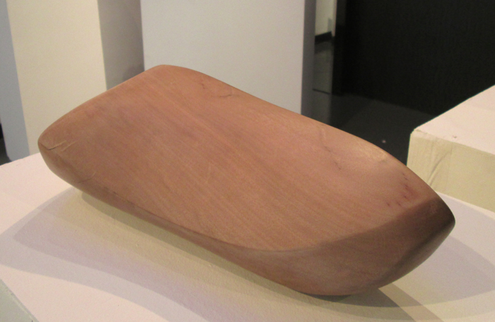 Untitled wood sculpture