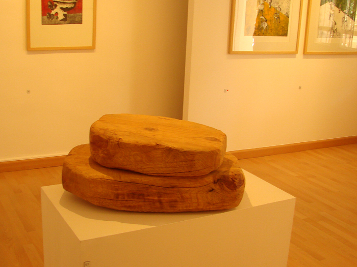 Untitled sculpture, wood